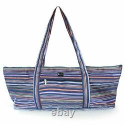 Aurorae Yoga Mat Tote Bag, Extra Wide To Fit Most Yoga Mats And Accessories, En