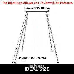 Portatif Aerial Yoga Frame Trapeze Stand Steel Pipe Yoga Swing Stand Indoor
