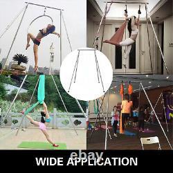 Vevor Portable Aerial Yoga Frame Stand Steel Pipe Yoga Dance Swing Stand Indoor