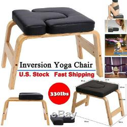 yoga banc headstand prop inversion chaise upside down for