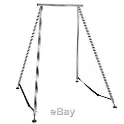 Yoga Trapeze Yoga Support Aérienne Bar Swing Hammock Stand Avec 472aerial Soie Sets